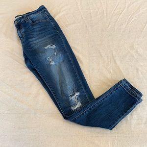 Women's KanCan Estilo Distressed Jeans Size 7 27